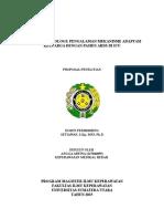 Proposal Qualitatif Angga Arfina (147046055)