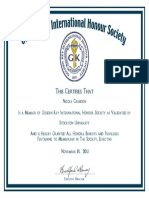 gold key certificate