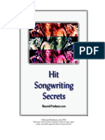 Hit Songwriting Secrets