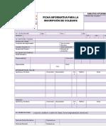 04_ficha Informativa Para La Inscripción de Colegios