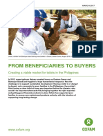 From Beneficiaries to Buyers