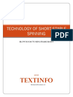 Technology of Short Staple Spinning