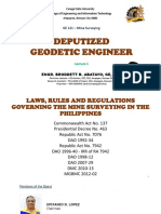GE 121 Lecture 1 (DEPUTIZED GEODETIC ENGINEER) by