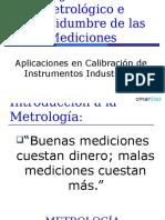 Metrologia 2012