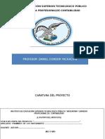 Proyecto de servicio argentina