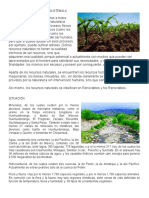 Recursos Naturales en Guatemala