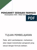PENGAWET FARMASI