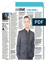 "Newsday ""Fast Chat"" - Colin Hanks"