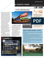 Business Events News for Thu 23 Mar 2017 - Computer graphics event for Brisbane, Global health leaders visit Melbourne, SA wins Perfect China event, and more
