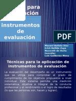 Técnicas para la aplicación de instrumentos de evaluación.pptx