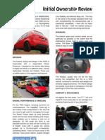 DRIVOBLOG®   FIGO Initial Owership Review
