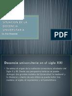 Analisis de La Situación de La Docencia Universitaria 2015