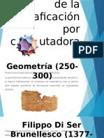 Linea Del Tiempo graficaciòn por computadora
