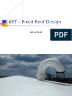 AST – Fixed Roof Design
