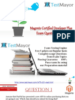 Pass Your Magento M70-201 Exam With Dumps