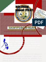 Public Fiscal Management