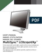 LCD2190UXp