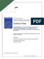 LC/BG Sanction Clauses Guidance Paper