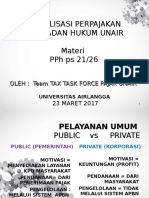 Sosialisasi Ptn Bh Unair Pph 23 Maret 2017