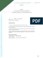 Déclaration de patrimoine Philippe Poutou