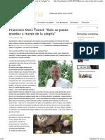 """Francisco Mora Teruel_ """"Solo Se Puede Enseñar a Través de La Alegría"""" _ El Emotional Magazine"""
