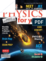 Physics for You - August 2016