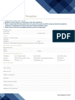 23 Risk Assessment Template