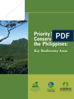 2006 CI-Philippines, Key Biodiversity Area booklet for Philippines.pdf
