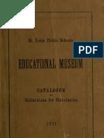 (1911) Catalogue of the Saint Louis Educational Museum