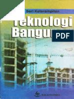Teknologi Bangunan