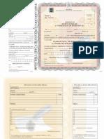 Certificat de Revalorizare a Competențelor Profesionale