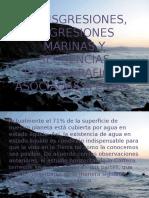 Transgresiones, Regresiones Marinas y Secuencias Estratigraficas Asociadas