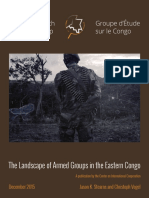 CRG Armed Groups in the Congo