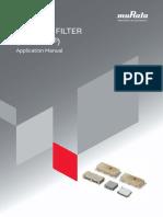 Murata Ceramic Filter Catalog