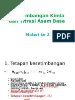 2. Titrasi Asam Basa