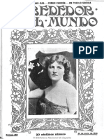 Alrededor Del Mundo (Madrid). 20-6-1906
