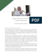 Los Ancianos. Papa Francisco (Audiencia 11.3.2015)[1]