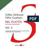 Guattari Deleuze, Como Fazerse Un Corpo Sen Órganos