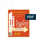 Powerpoint Training Manual