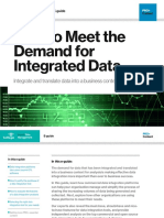 How to Meet the Demand for Integrated Data