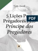 Tom Ascol - 5 lições aos pregadores Spurgeon.pdf