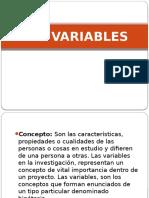 Las Variables Ppt