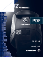 2007 Evinrude Etec 75 HP Service Manual