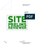 (Site)Reviewer (App)