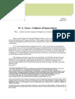W.L. Gore - Culture of Innovation.pdf