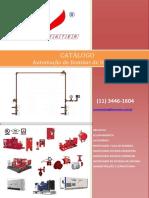 FIRECENTER - Catálogo de Cavaletes de Automação de Bomba de Incêndio 2017
