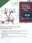 Basic Web Chapter 1