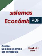Analisis Socieconomico de Venezuela_Unidad I _ Tema 1