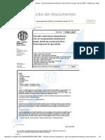 NBR 13037 - Veiculos Rodoviarios Automotores - Gas de Escapamento Emitido Por Motor Diesel Em Ace.pdf - Normas ABNT - Nbr 13037