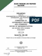 HOUSE HEARING, 105TH CONGRESS - YEAR 2000